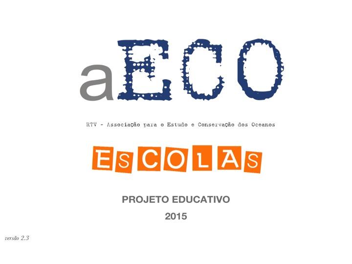 Projeto Educativo aECO Escolas